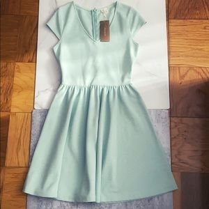 Francesca's NWT Mint Green Dress Sz Small